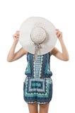 Молодая женщина в моде Стоковые Фотографии RF