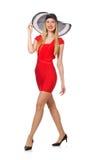 Молодая женщина в моде Стоковые Фото