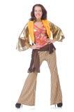 Молодая женщина в моде Стоковое Изображение