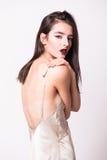 Молодая женщина очарования стильная красивая Стоковое Изображение RF