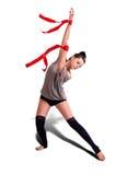 Женщина гимнаста Стоковые Фото