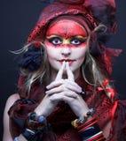 Молодая женщина стоковые изображения rf