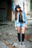 Молодая женщина outdoors Стоковое Фото