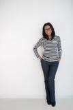 Молодая индонезийская женщина Стоковая Фотография RF