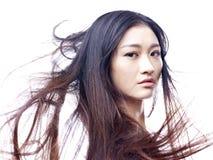 Молодая и красивая азиатская модель Стоковые Фото