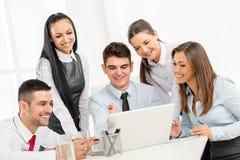 Молодая команда дела в офисе Стоковые Фото