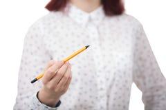 Молодая коммерсантка студента Стоковое фото RF