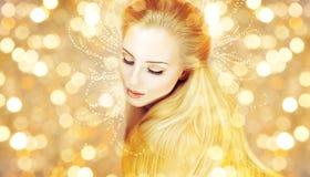 Молодая красивая съемка красоты женщины стоковая фотография