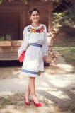 Молодая красивая украинская женщина Стоковое Фото