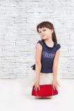 Молодая модельная девушка Стоковые Изображения