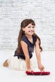 Молодая модельная девушка Стоковая Фотография