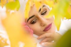 Молодая мусульманская девушка Стоковые Фотографии RF