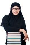Молодая мусульманская студентка Стоковое фото RF