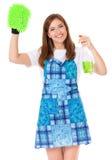 Молодая домохозяйка стоковое изображение rf