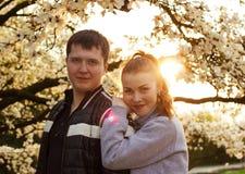 Молодая пара Стоковые Фото