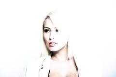 Молодая привлекательная бизнес-леди Стоковые Фотографии RF