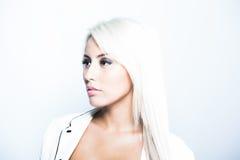 Молодая привлекательная бизнес-леди Стоковое Фото