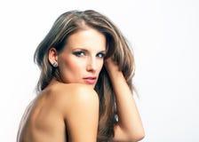 Молодая привлекательная женщина стоковое фото