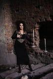 Молодая сексуальная ведьма Стоковые Фото
