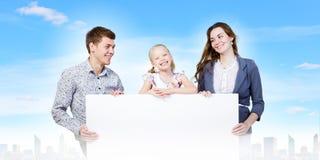 Молодая семья Стоковые Фото