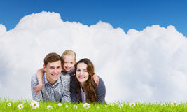 Молодая семья Стоковые Изображения