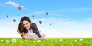 Молодая семья Стоковые Фотографии RF