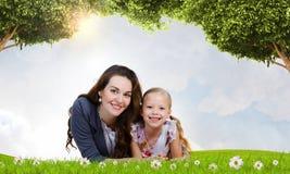 Молодая семья Стоковая Фотография