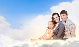 Молодая семья Стоковое Фото