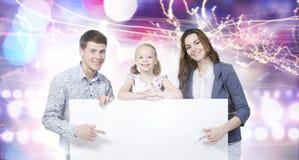 Молодая семья иллюстрация вектора