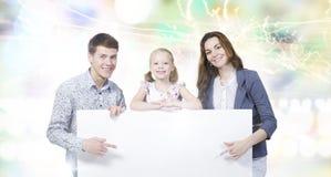 Молодая семья стоковое изображение
