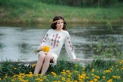 Молодая славянская девушка Стоковое фото RF