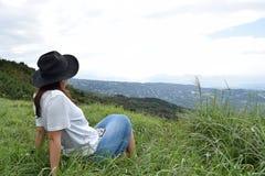 Молодая японская девушка Стоковое Фото