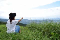 Молодая японская девушка Стоковые Фото