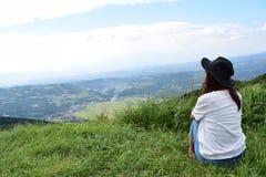 Молодая японская девушка Стоковое Изображение RF