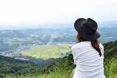 Молодая японская девушка Стоковое фото RF