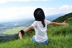 Молодая японская девушка Стоковая Фотография RF
