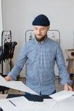 Молодое предприниматель бренда Стоковые Фото