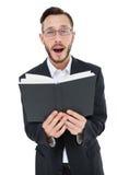 Молодое чтение проповедника от библии Стоковые Фотографии RF