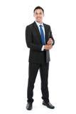 Молодой азиатский бизнесмен стоковое изображение