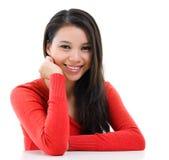 Молодой азиатский портрет женщины Стоковые Фотографии RF