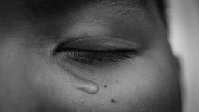 Молодой азиатский плакать мальчика Стоковые Изображения