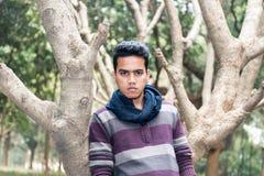 Молодой азиатский человек Стоковая Фотография