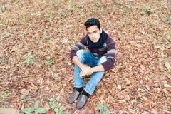 Молодой азиатский человек Стоковые Изображения RF