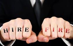 Кулачок бизнесмена Стоковая Фотография RF