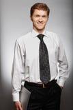 Молодой бизнесмен Стоковые Изображения