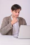 Молодой бизнесмен Стоковое Изображение
