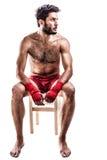 Молодой боксер стоковое фото