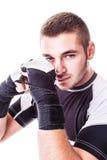 Молодой боксер Стоковое Изображение