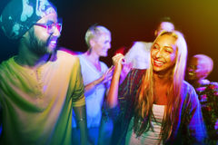 Молодой взрослый на партии Стоковое Фото