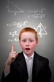 Молодой гений Стоковые Изображения
